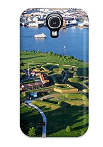 Galaxy S4 Case Slim [ultra Fit] Fort Mchenry Protective Case Cover