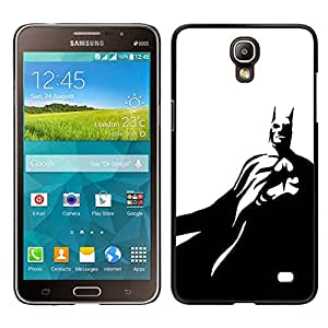 For Samsung Galaxy Mega 2 , S-type® Black White Flying Mask - Arte & diseño plástico duro Fundas Cover Cubre Hard Case Cover