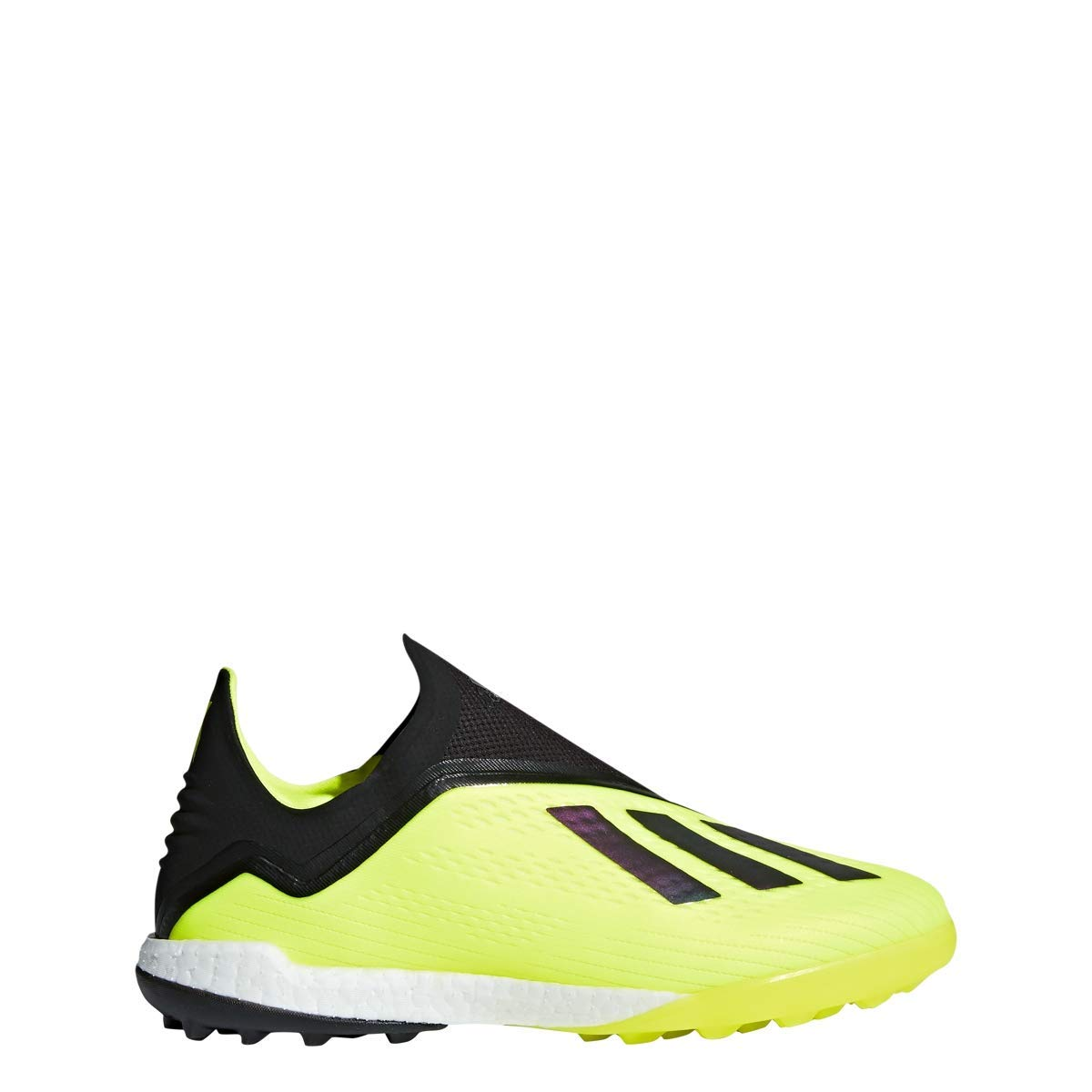 Solar Yellow-Black-White adidas X Tango 18+ Turf shoes Men's Soccer