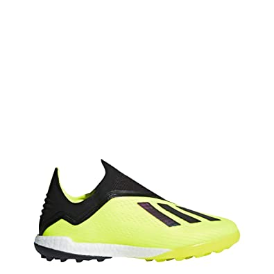 f39a3d86f adidas X Tango 18+ Turf Shoe - Men s Soccer 6.5 Solar Yellow Black