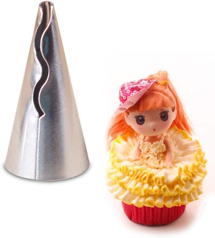 Torten /& Keksen #1 Cupcakes CHSEEO 4pcs Spritzt/üllen Set Garniert/ülle Icing Piping Spritzd/üse D/üse T/ülle Kuchen-Dekoration Tipps Kochen Tools f/ür Kuchen Pl/ätzchen