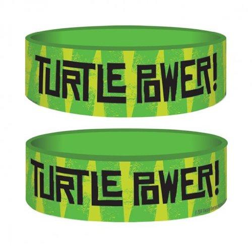 Pyramid Wristband (Wristband - Turtles - Turtles Power - Rubber - Pyramid)