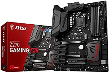 MSI Z270 Gaming M5 Intel SATA 6Gb/s USB 3.1 ATX Motherboards