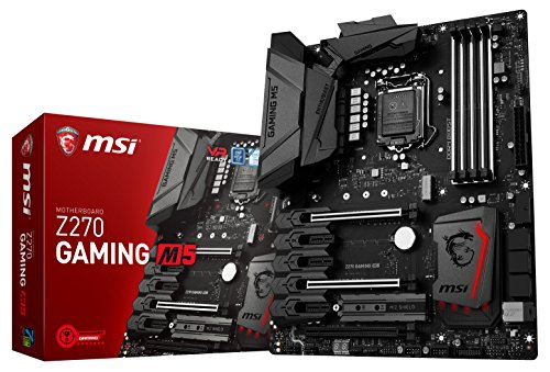 MSI Enthusiastic Gaming Intel Z270 DDR4 VR Ready HDMI USB