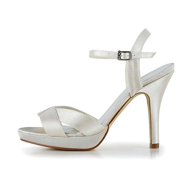 Jia Jia Wedding 37060 Scarpe Sposa Scarpe col tacco donna: Amazon.it: Scarpe  e borse