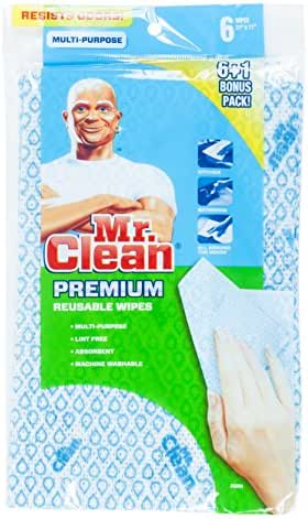 Multi-Surface Cleaner: Mr. Clean Premium Reusable Wipes