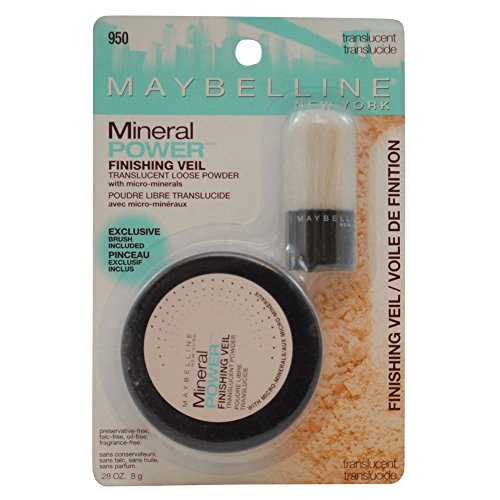 Maybelline New York Mineral Power Finishing Veil Translucent Loose Powder, Translucent, 2 Ea