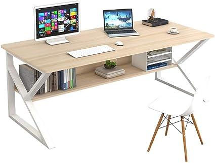 XLO Estación de trabajo grande, escritorio de estudio de ...