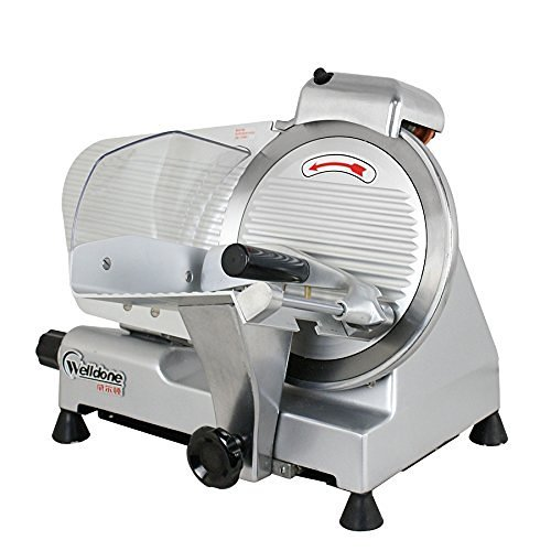 F2C Professional Stainless Steel Semi-Auto Meat Slicer