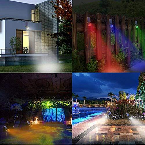 Appreciis Solar Solar Adjustable Landscape Light & Dark Sensing Auto Patio Yard Stairs (2