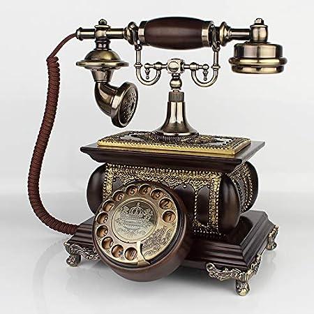 Telefono Fijo Vintageteléfono Antiguo, Teléfono Retro Europeo ...