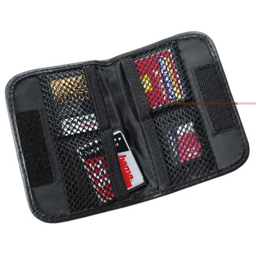 "Hama  ""Universal"" Memory Card Case Small   Black product image"
