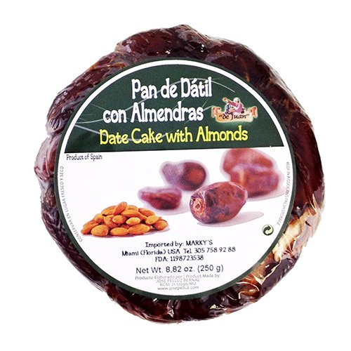 (Spanish Date Cake with Almonds - 8.8 oz )