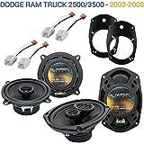 Fits Dodge Ram Truck 2500/3500 2006-2010 OEM Speaker Upgrade Harmony Speakers New