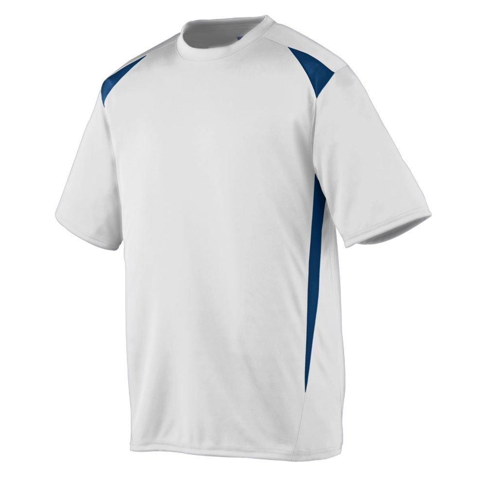 Augusta Sportswearメンズプレミアクルー B00E1YSVFC 3X-Large|ホワイト/ネイビー ホワイト/ネイビー 3X-Large