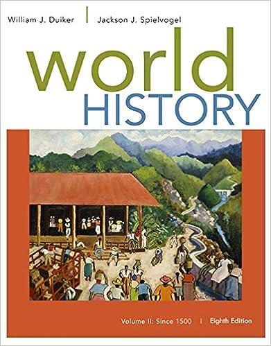 Amazon world history volume ii since 1500 9781305091221 amazon world history volume ii since 1500 9781305091221 william j duiker jackson j spielvogel books fandeluxe Choice Image