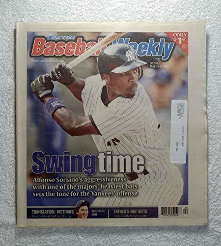 Alfonso Soriano (New York Yankees) - Swing Time - Baseball Weekly Magazine - May 15, 2002 ()