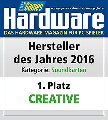 Creative SB1700 Sound BlasterX G5 Scheda Audio Portatile HD 7.1 colore nero Windows PC, Mac e PS4