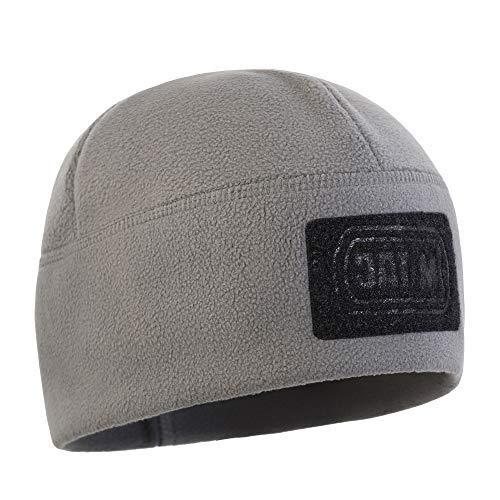(M-Tac Skull Cap Windproof 380 Winter Mens Watch Tactical Beanie (Grey, Medium))