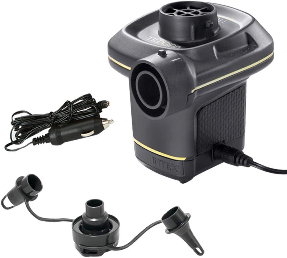 Intex 66634 - Inflador eléctrico con adaptadores 220-240V