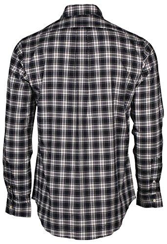 Polo Ralph Lauren Button Down Herren Hemd black white Größe S