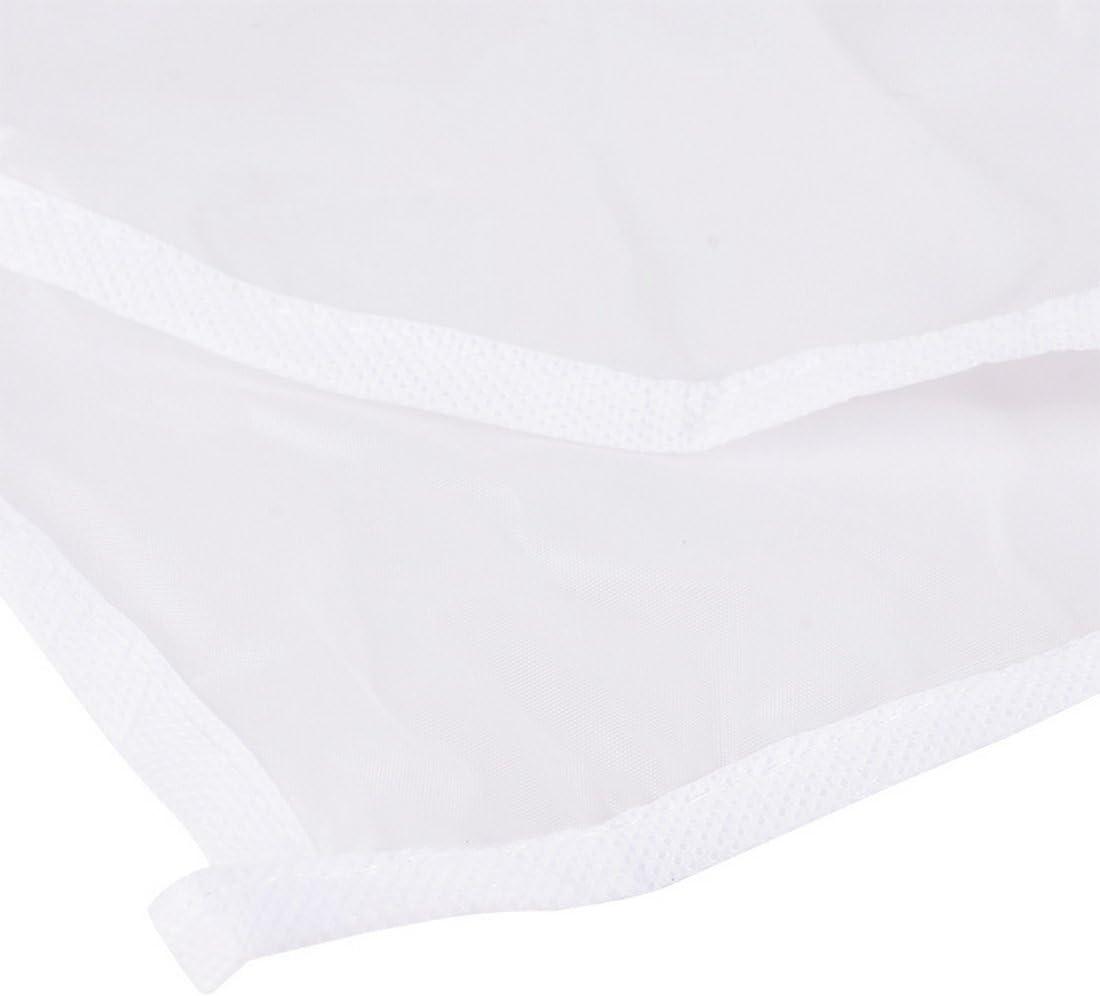 Godagoda Kleiderschutzh/ülle mit Rei/ßverschlu/ß Atmungsaktiv Kleidung Staubschutz Transparent PEVA Kleidersack
