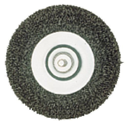 Metabo 630551000 Coarse Steel-Wire Wheel Brush, Green, 100 mm