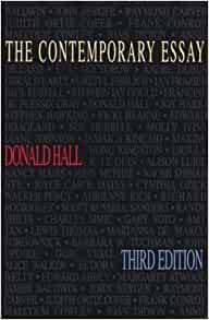essays by donald hall So, when i read a review of donald hall's essays after eighty but donald hall does not seem to me to be an angry, bitter and unhappy old man.