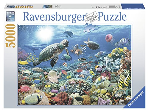 Ravensburger Beneath The Sea 5000 Piece Jigsaw Puzzle for Adults - Softclick Technology Means Pieces Fit Together Perfectly (Puzzle 5000 Piece)
