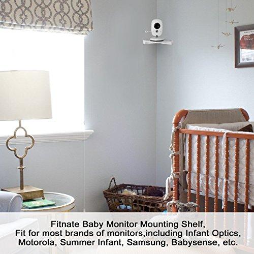 Baby Monitor Camera Corner Shelf No Drilling Wall Mount