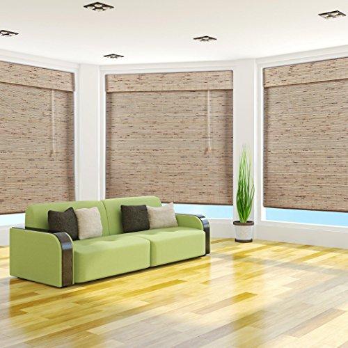72 Inch Bamboo Roman Shade - 7