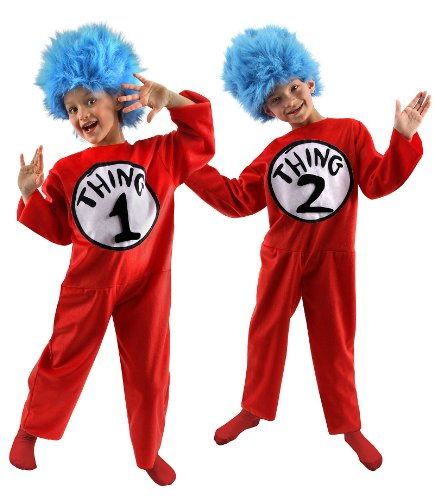 Thing (Thing 1 Costume Pattern)