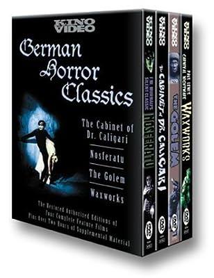 German Horror Classics (Nosferatu (1922) / The Cabinet of Dr. Caligari / Waxworks / The Golem)