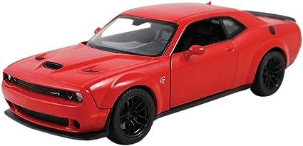 Choose Color MOTOR MAX 2018 Dodge Challenger SRT Hellcat Widebody 1:24 Diecast