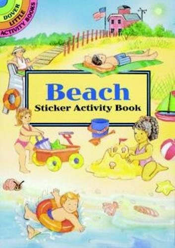 Beach Sticker Activity Book (Dover Little Activity Books Stickers) ()