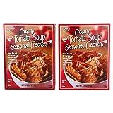 Creamy Tomato Soup Seasoned Crackers Gluten Free 3.5OZ (99g) (PACK OF 2)