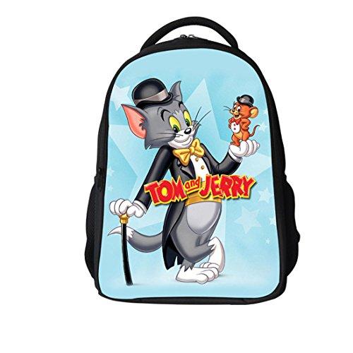 Better Vie Tom&Jerry Gentlemen Children Backpack School Bag