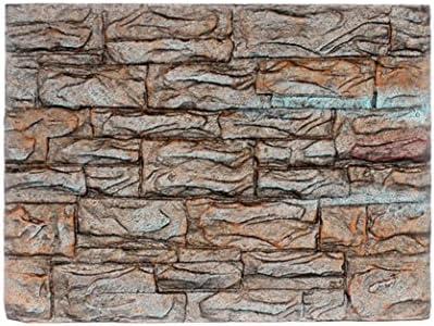 SO-buts Fondo de Acuario, Piedras de Acuario, Decoración de Acuario, Espuma 3D, Decoración de Acuario respetuosa con el Medio Ambiente.