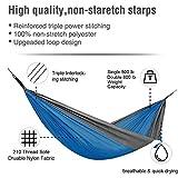 BADIQI Camping Hammock, Double and Single Portable