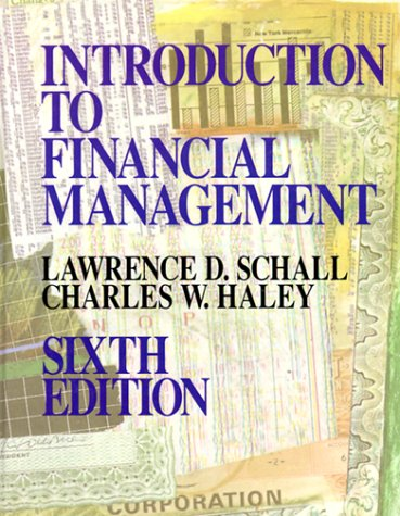 Introduction To Financial Management  Mcgraw Hill Series In Finance
