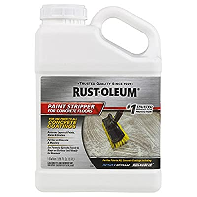 Rust-oleum 301029 Epoxy Shield Concrete Floors Paint Stripper, 1 Gallon