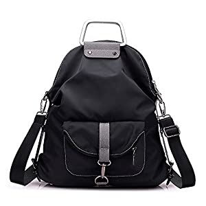 Mfeo Weekend Travel Multi Use Methods Oxford Backpack Shoulder Bag Handbag