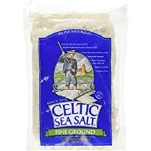 Celtic Sea Salt, Fine Ground, 8 Ounce Pouch (Pack of 2)