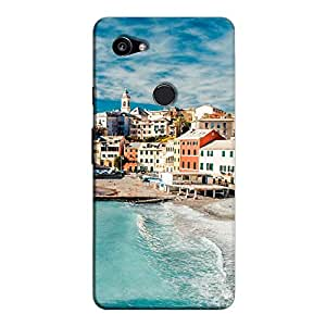 Cover It Up - Beach Town Pixel 2 XL Hard Case