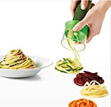 Hand Spiral Cutter for Vegetable Spaghetti Potato-Courgettes, Cucumbers, Asparagus Peeler Schneider, Cucumbers Peelers, Carrots Grater Carrots Peelers, Vegetable Slicer