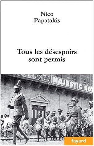 Livre Tous les désespoirs sont permis pdf