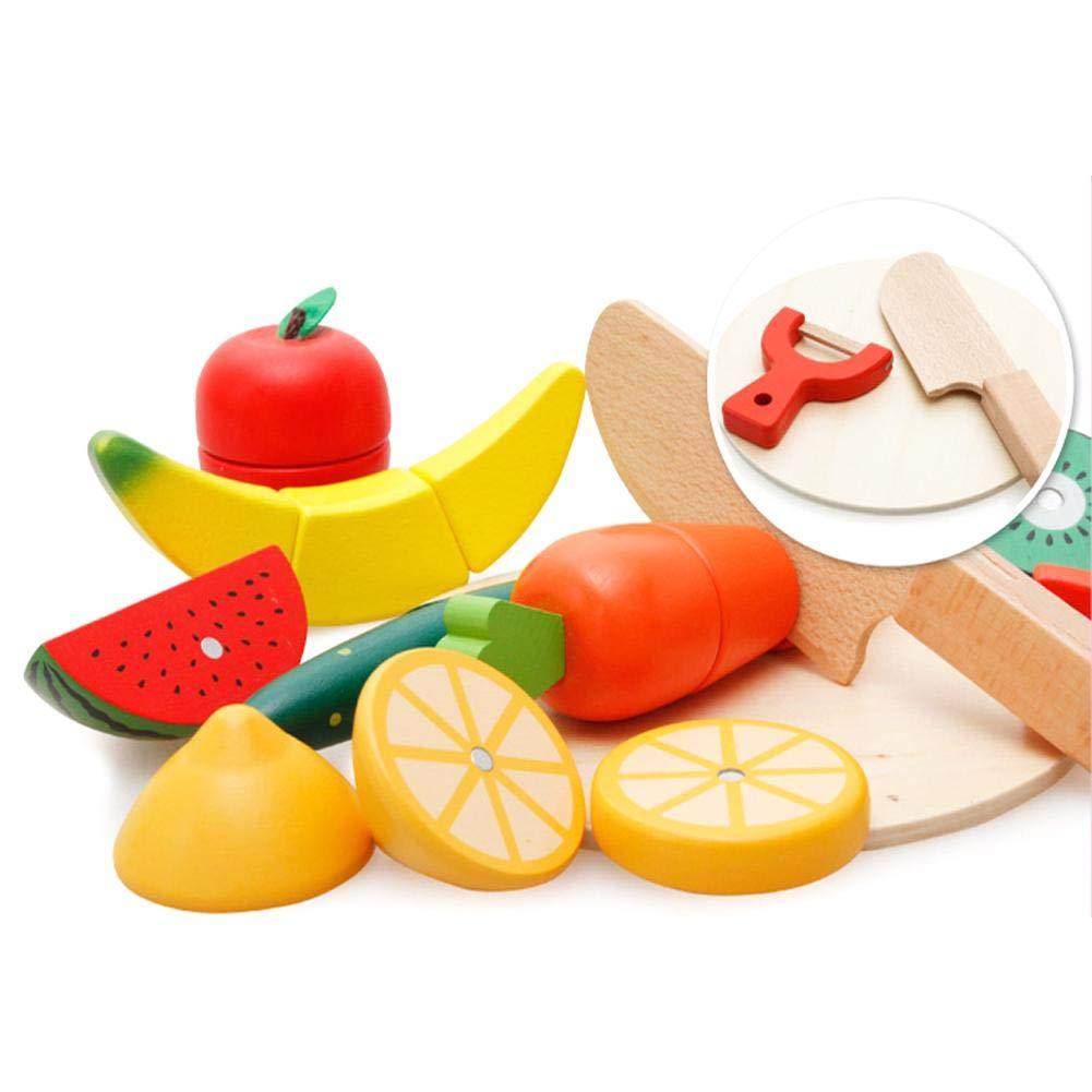 Madera Juegos Piezas Y Frutas Vegetales Cortadores 10 De sdxthrQC