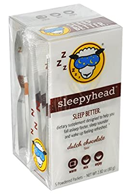 Sleepyhead Natural Sleep Aid Supplement, Melatonin and Valerian Root, Caramel Toffee and Dutch Chocolate Variety Pack,10-Pack