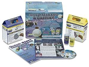 MoldMaking & Casting Pourable Silicone Starter Kit