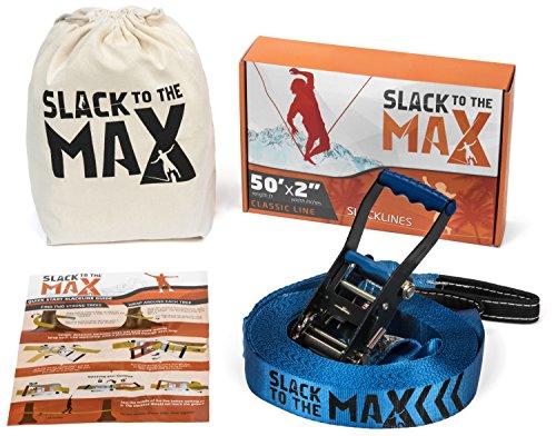 Slack to the Max 50 Feet Classic Slackline